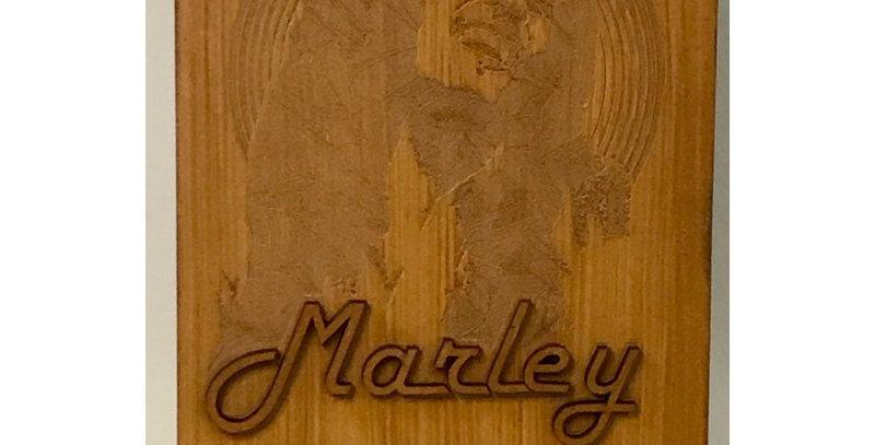 Quado Rústico Bob Marley - 26x40cm