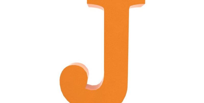 Letra J -19x19cm