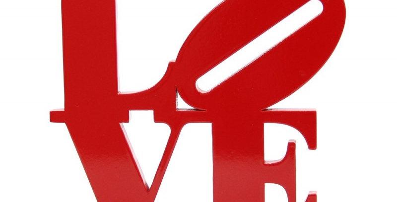 Palavra Decorativa Love - 22x23cm