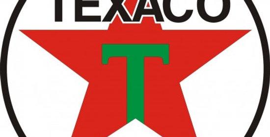 Quadro Logomarca Texaco 1948 - 40x40cm