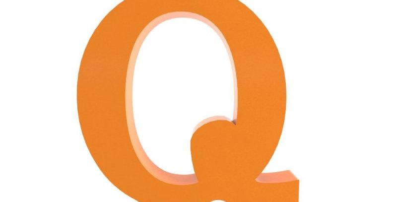 Letra Q -19x19cm