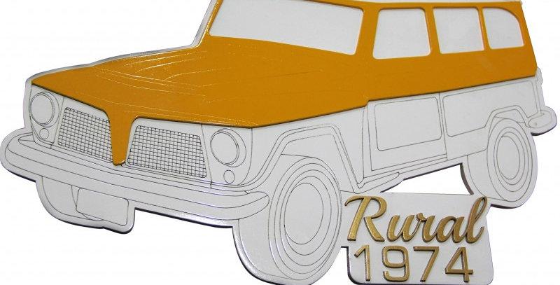 Quadro Rural 1974 - 40x40cm