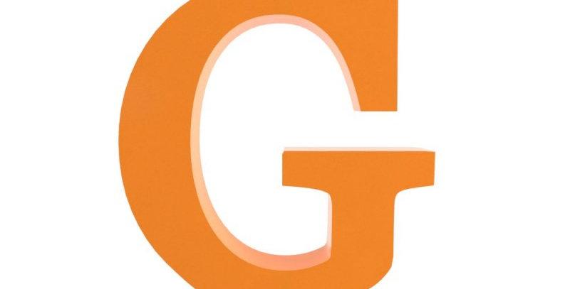 Letra G - 19x19cm