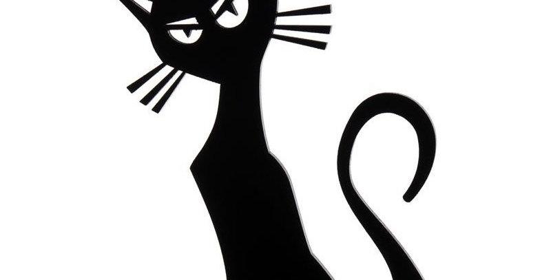Decoração de Gato - 25x17,2cm