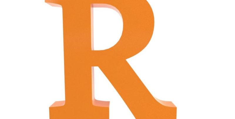 Letra R - 19x19cm