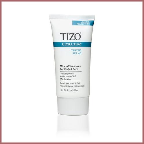 TIZO®Ultra Zinc Body & Face Sunscreen  Tinted SPF 40