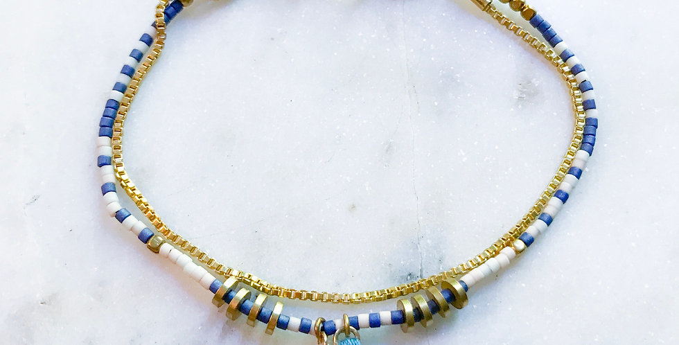 Honey Bracelet in Azul