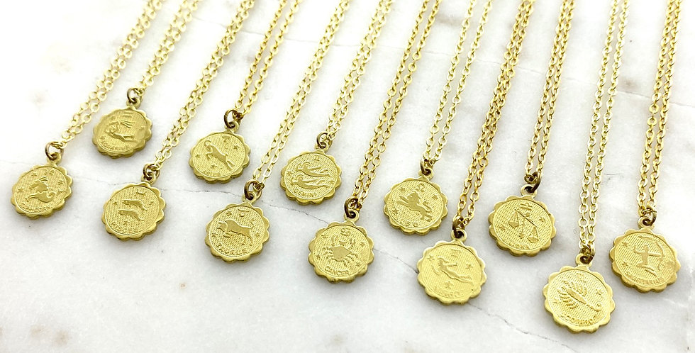 Wholesale Zodiac Necklace Set