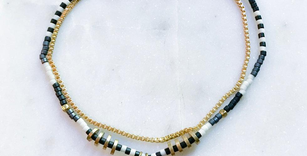 Honey Bracelet in Coal