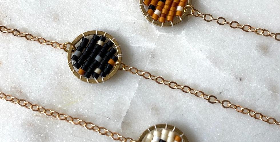 Speckled Woven Bracelet