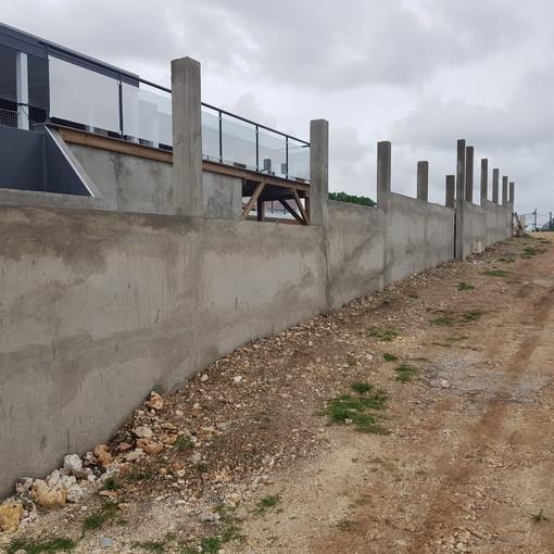 Mur béton de clôture, JM Concept BTP