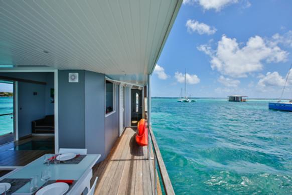 Villa flottante sur l'eau Guadeloupe / Martinique