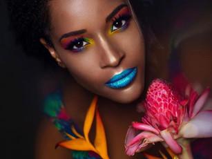 Maquilleuse pour Shooting photo en Guadeloupe Deshaies