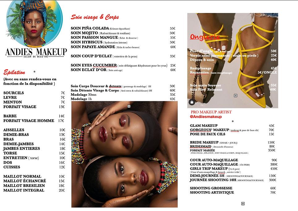 Epilation, Soins visage et Corps, Pro Makeup Artist Deshaies