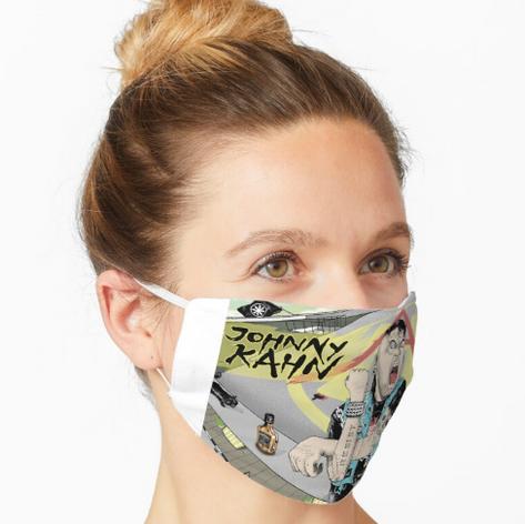 Johnny Kahn Face Masks