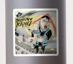 Johnny Kahn Rockstar sticker
