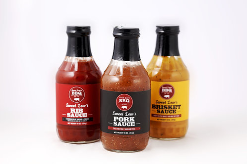 Sweet Lew's Original Sauces (3 Pack)