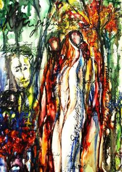 GG-2-Rilke-Gedicht-Tempera auf Leinwand-105x95-IMG_0017