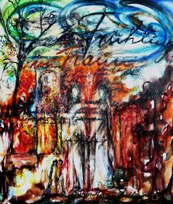 GG-5-Rilke-Gedicht-Tempera auf Leinwand-95x85-IMG_0065