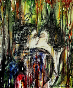 GG-7-Rilke-Gedicht-Tempera auf Leinwand-105x90-IMG_0096