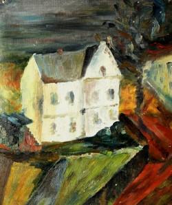 GEB-6-Weißes_Haus-Öl_auf_leinwand-50x40-eines_der_ersten-verm.1951-CU8A5195