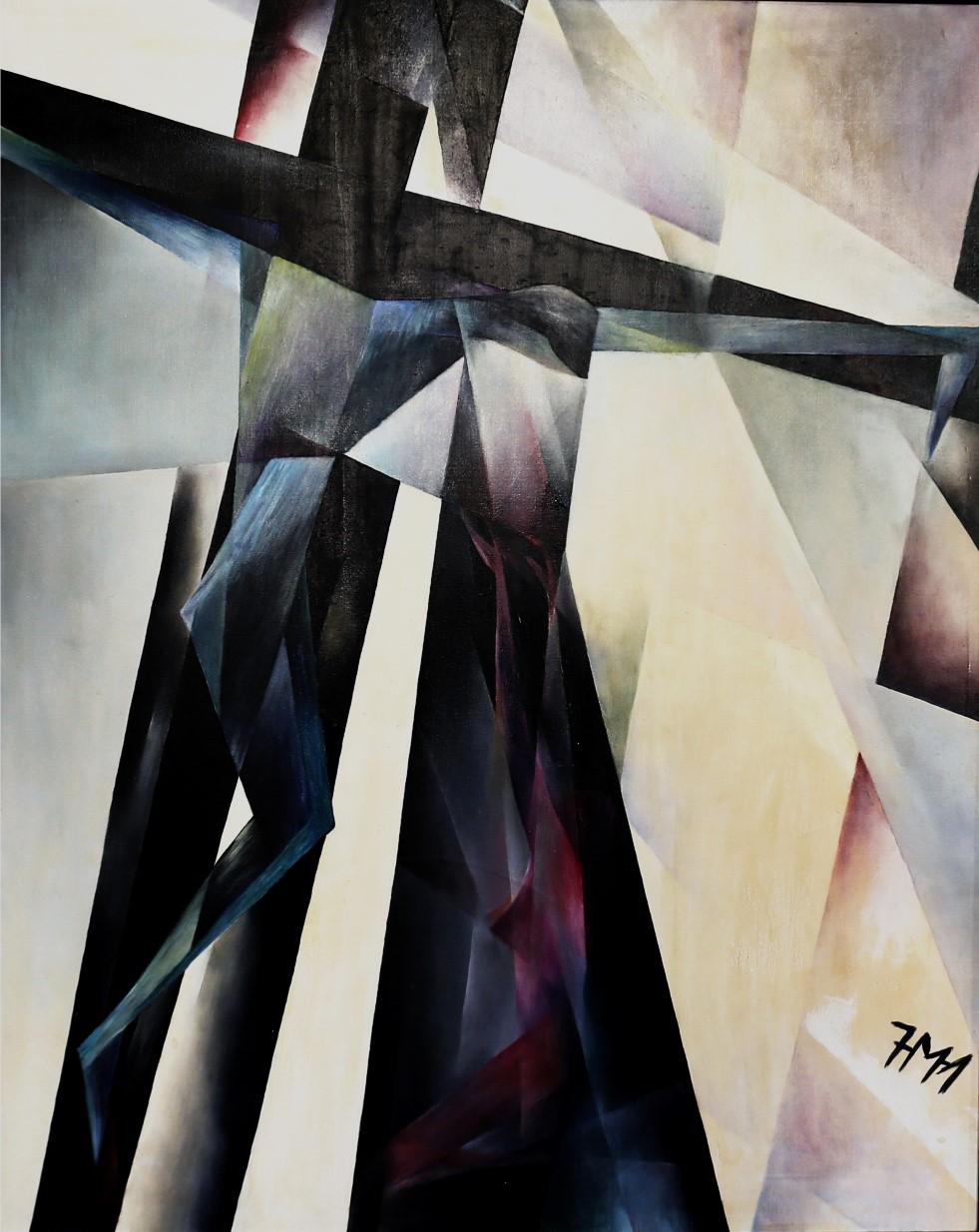 GV-1-Kreuzigung-Öl_auf_Leinwand-100x80-IMG_0080