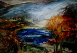 GL-16-Herbstsee-Öl auf Leinwand-50x60-IMG_0085 (1)