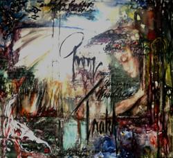 GG-3-Georg Trakl-Gedicht-Tempera auf Leinwand-90x105-IMG_0023