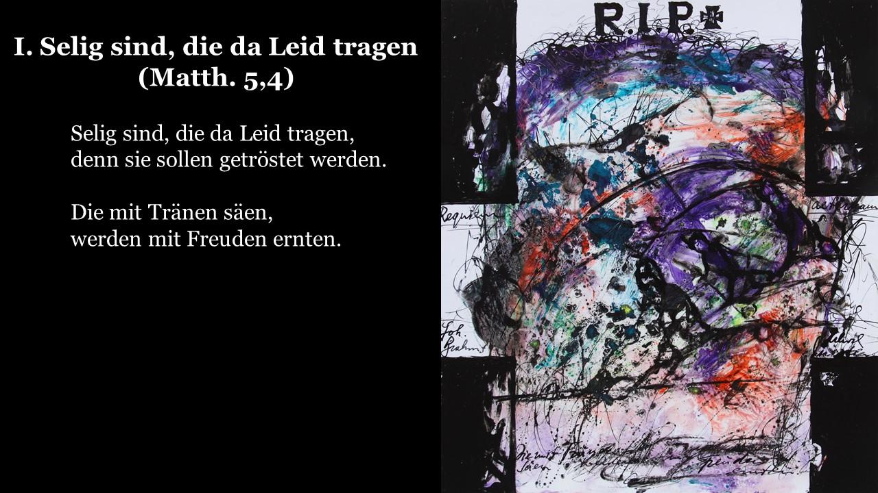 Ein deutsches Requiem (2)