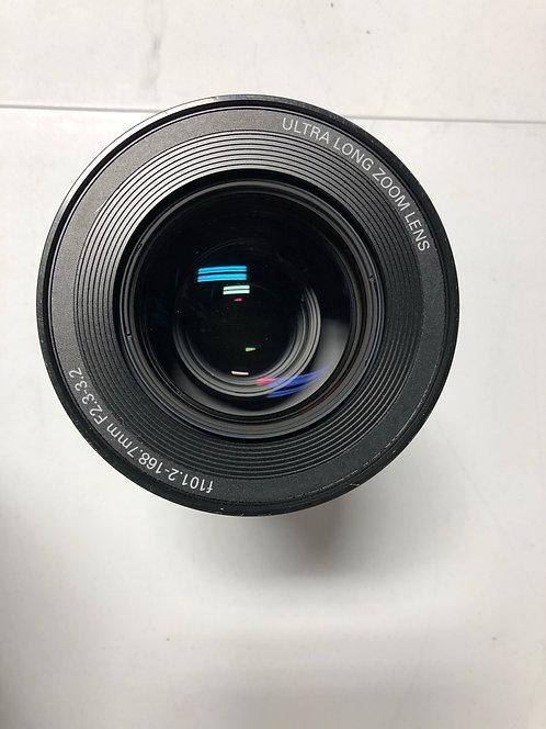 Christie Digital 4.8-8.0:1 Ultra Long Lens