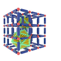 Metal organinic frameworks and nanoparticles. Comissioned by Immaterial.