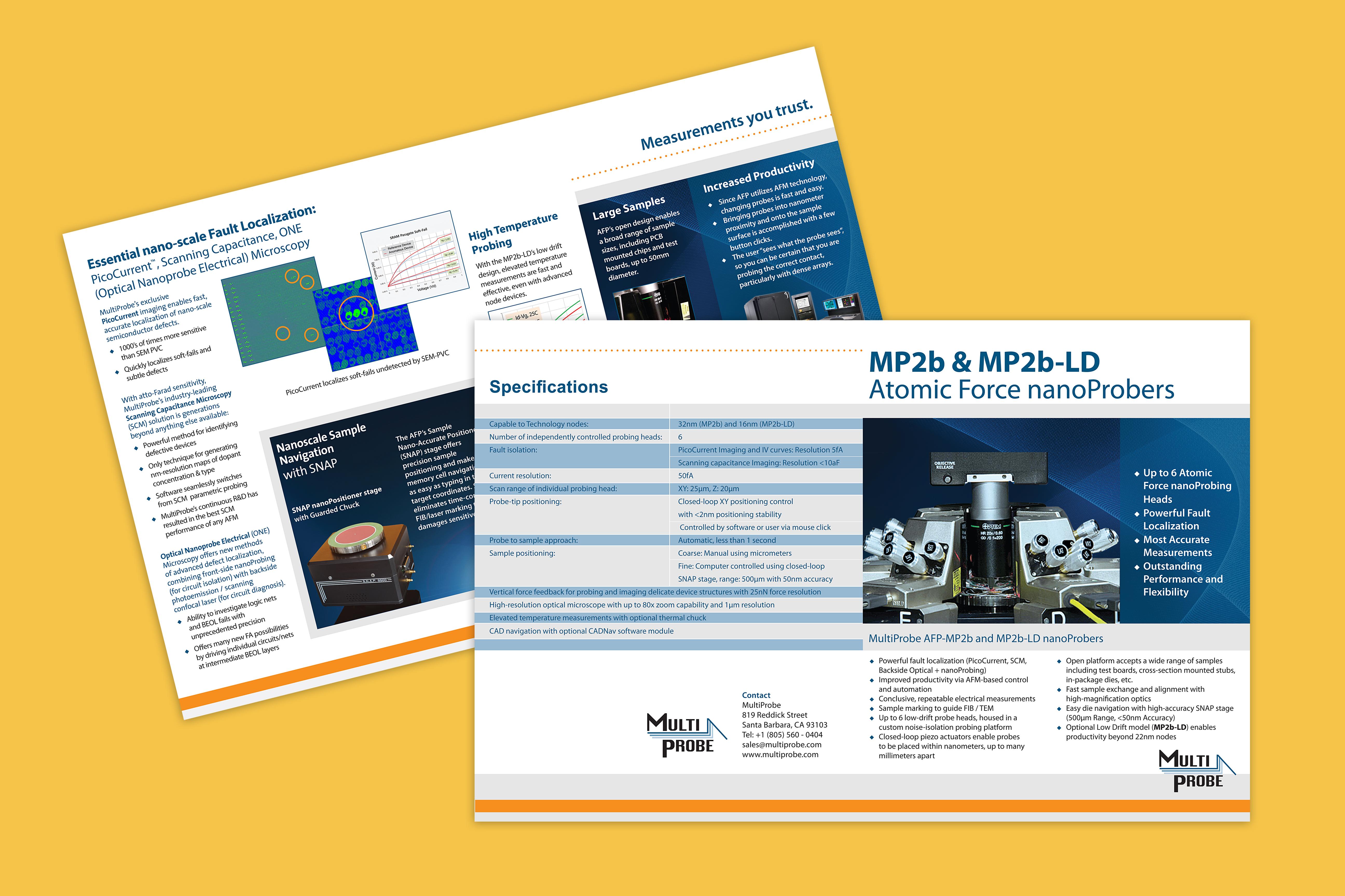 Multiprobe Brochures
