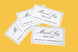 Mixed Six Business Cards
