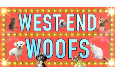 'WEST END WOOFS' - THE UK'S FIRST STAR-STUDDED VIRTUAL DOG & CAT ADOPTION EVENT