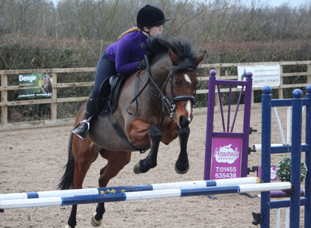Maddy Back In The Saddle With Scoops and Rosie
