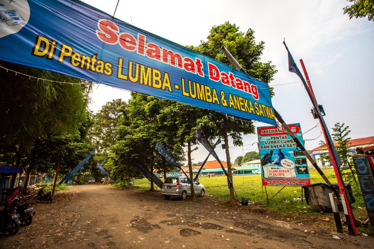 WSI Bogor welcome sign