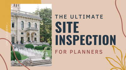 THE ULTIMATE SITE INSPECTION for planners