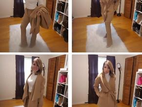 Classy Wrap Coat