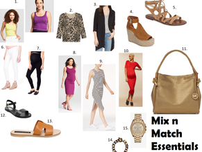 Maternity Style Round Up-Mix n Match Essentials