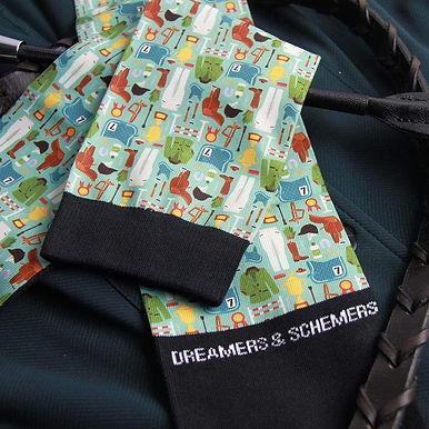 Dreamers & Schemers #horseshowstyle Socks
