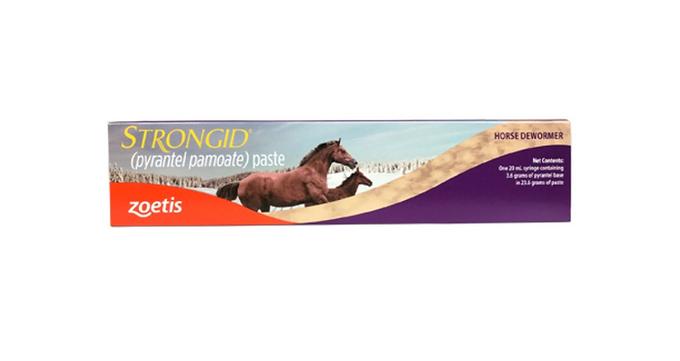 Strongid Horse Dewormer Paste