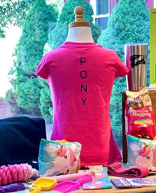 Childs EQ SPORT TEAM Pony Shirt