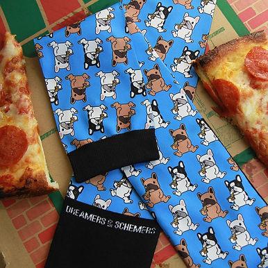 Dreamers & Schemers Pizza Pup Socks