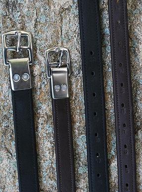 KL Select Black Oak Stirrup Leathers