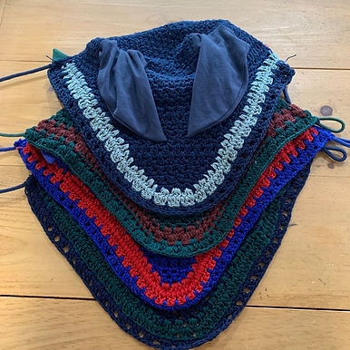 Crochet Fly Bonnet