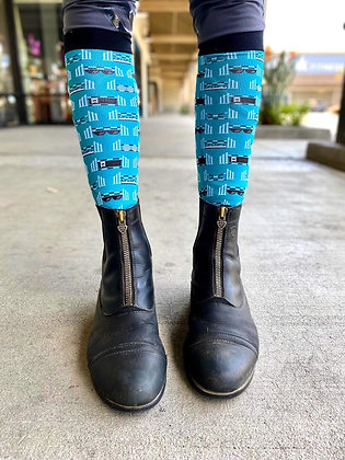 Dreamers and Schemers Boot Socks