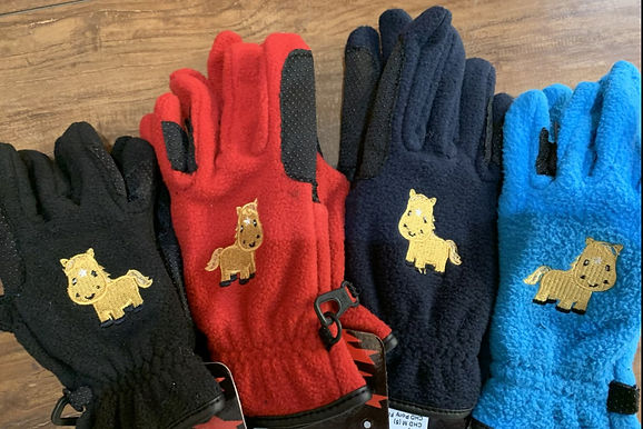 Equistar Pony Fleece Gloves