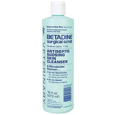 Betadine Sultion Sudsing Cleaner- Scrub