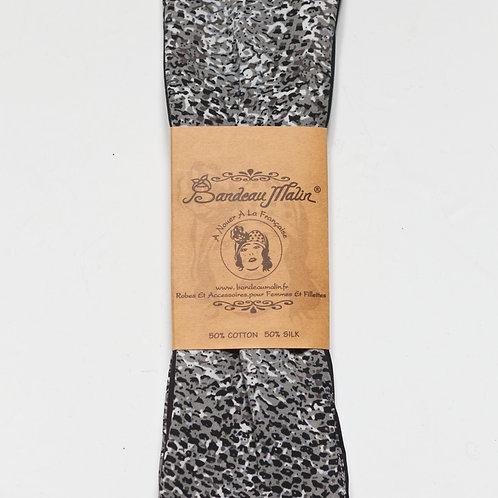 bandeau cheveux femme imprimé serpent