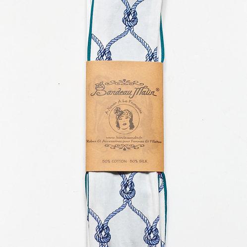 bandeau cheveux long pour femme motif cordes